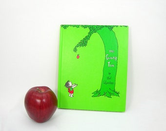 "Vintage Book ""The Giving Tree"" by Shel Silverstein - Copyright 1964 - Harper & Row, Publishers - All Ages - Tender Story Of Giving and Love"