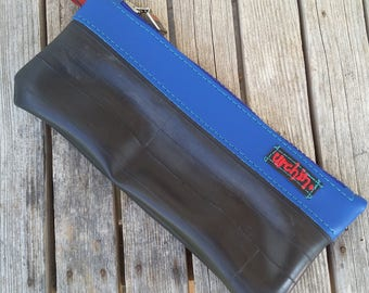 Pencil case - Bike tube purse - Makeup bag