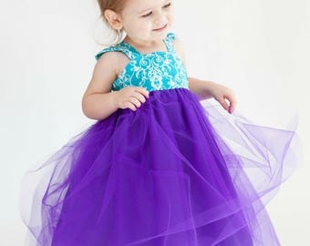 SALE Tulle Dress Sewing Pattern PDF Tutorial ebook -- Almost Famous -- NB - 12 girls Instant Whimsy Couture