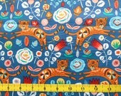 CUSTOM Reusable Cloth Menstrual Pad - You Pick Backing - Jumping Tigers*
