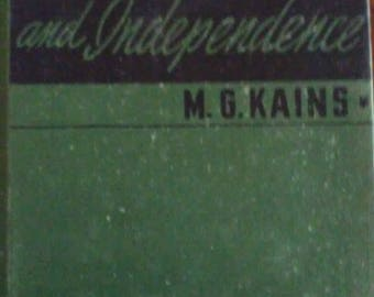 Five Acres and Independence by M G Kaines