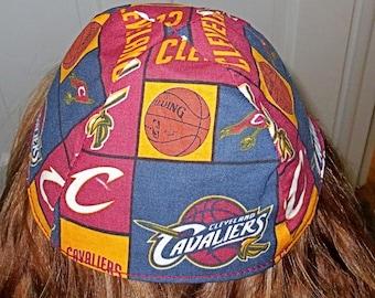 NBA Cleveland Cavaliers yarmulke or kippah basketball yarmulke  professional sports yamaka great gift for him