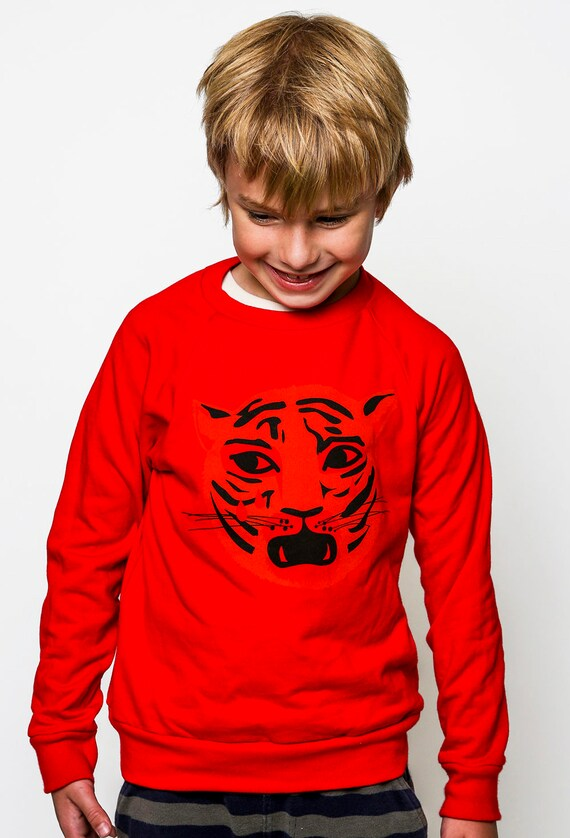 Kids Crying Tiger Sweatshirt