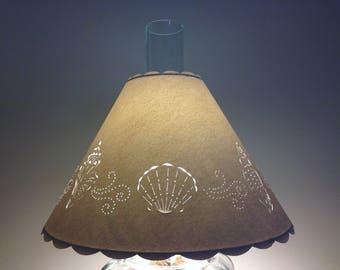 Chimney Lampshade-Hurricane Lampshade-Lampshade for Chimney Lamp-Lampshade for Hurricane Lamp-Electrified Oil Lampshade-Lampshades-Paper