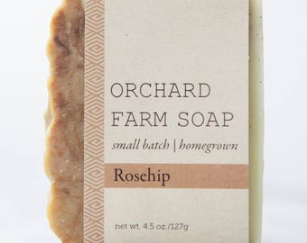 Rosehip Soap//Nourishing Soap//Natural Soap