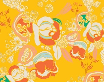 EXTRA20 20% OFF Meadow Florascape Marigold - 1/2 Yard