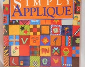 Simply Applique quilt book --  clearance