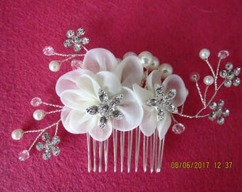 Wedding bridal Hair comb, rhinestone haircomb