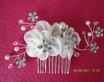 Wedding bridal Hair comb, rhinestone haircomb
