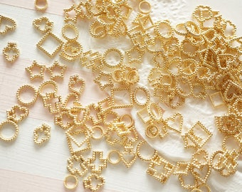 4g Resin inclusions / inserts / supplies  (4-8mm) Dots frames AA039