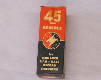 45 RPM turntable adapter spindle NOS