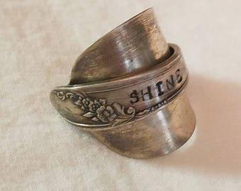 Shine armor ring