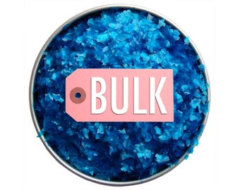 Blue Edible Glitter BULK - sparkly royal blue glittery sprinkles for cakes, cupcakes, and cookies
