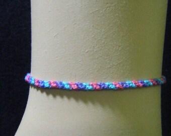 Tropical Inspired Friendship Bracelets