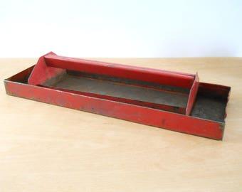 wooden tool box etsy. vintage tool box tray insert \u2022 tote red metal organizer wooden etsy b