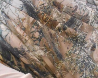 SPANDEX camo camouflage fabric True Timber  MC2 4-way stretch free ship