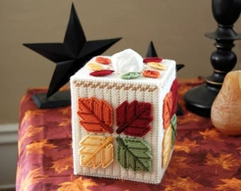 PATTERN: Autumn Leaves in Plastic Canvas