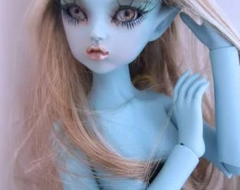 MOONBEAM dusty sky blue fairy msd elf doll bjd ball joint doll