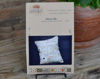 Calico Station Glory Be Primitive Embroidery Pattern