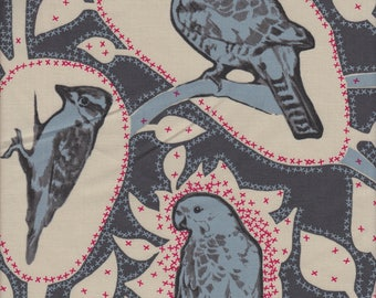 Free Spirit Fabrics Anna Maria Horner Sweet Dreams Cacophony in Charcoal - Half Yard