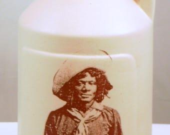 Black Cowboy small jug moonshine whiskey handmade