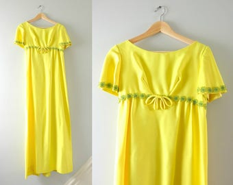 Yellow Gown Etsy
