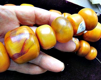 Beads, HUGE, COPAL, AMBER, Rare, Focal, High Quality,Tree, Sap, I