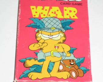 Vintage (1978) Garfield War Card Game