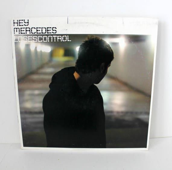 Hey Mercedes Loses Control LP on Vagrant w/ Insert EX Vinyl Indie Alt Punk Rock