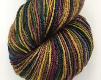 Handspun Yarn Sock Yarn 'Jewels' falkland 415 yds nply