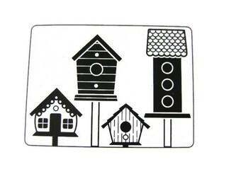 Darice Bird Houses Embossing Folder