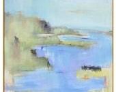 Best Selling Item, Framed Abstract Landscape Canvas, Large 40x40 48x48 Framed Print, Gold Frame, Black Frame, Best Seller, Most Popular
