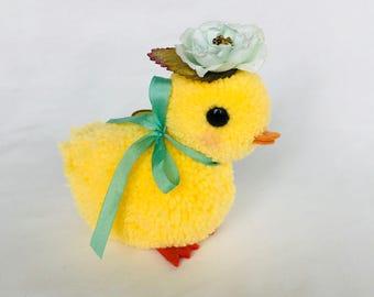 Peony the baby duck