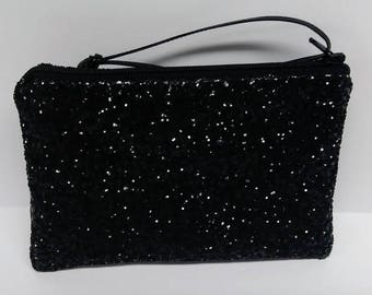 Frosted Canvas Pouch