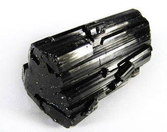 Rough, Natural Black Tourmaline for You, Your Computer and Your TV