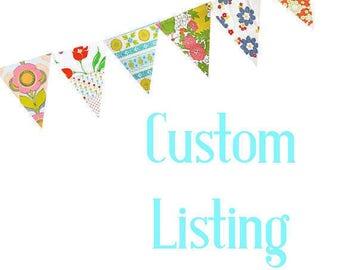 Custom Listing for Mary Ann