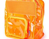 Juice Orange Vinyl Backpack