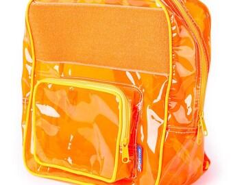 Juice Orange Vinyl Backpack