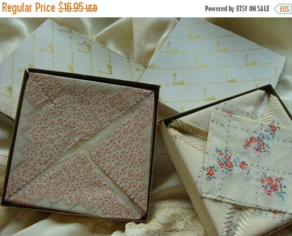 ON SALE 2 Original Boxes of Vintage Pink Roses Tea or Luncheon Paper Napkins Perfect Hostess Gift for that Vintage Loving Gal