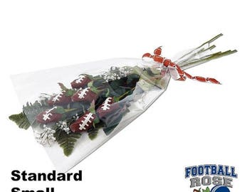 JULY SALE - 20% OFF: Football Rose Bouquet