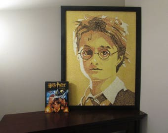Harry Potter Hogwarts Word Art