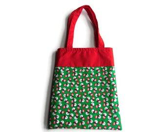 Snowman Bag - Goodie Bag - Mini Tote