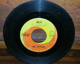 The Beatles Help Vinyl 45 RPM Record