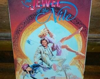 Jewel of The Nile Vintage VHS Cassette Tape