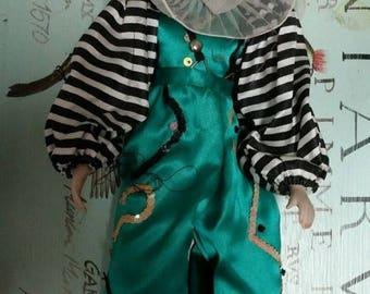 super sale harlequin doll