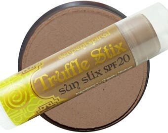 Sun Stix SPF20 TRUFFLE STIX organic tinted face & body protection stix