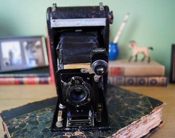Antique Kodak No. 1 Autographic Junior Camera -For Parts!