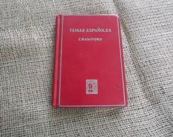 Temas Espanoles by Crawford 1922