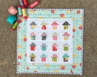 Mini Neighborhood PAPER Quilt Pattern #126