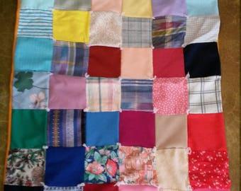 Vintage Patchwork Child's Quilt